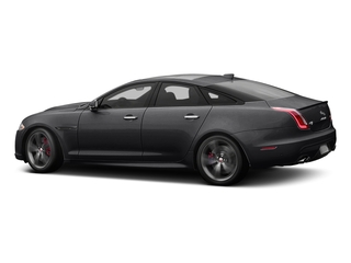 Ebony 2016 Jaguar XJ Pictures XJ Sedan 4D XJR V8 Supercharged photos side view