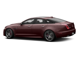 Aurora Red Metallic 2016 Jaguar XJ Pictures XJ Sedan 4D XJR V8 Supercharged photos side view