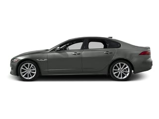 Ammonite Gray Metallic 2016 Jaguar XF Pictures XF Sedan 4D 35t R-Sport V6 Supercharged photos side view