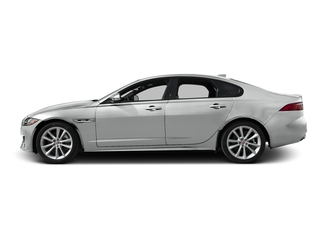 Rhodium Silver Metallic 2016 Jaguar XF Pictures XF Sedan 4D 35t R-Sport V6 Supercharged photos side view