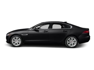 Ebony Black 2016 Jaguar XF Pictures XF Sedan 4D 35t Premium V6 Supercharged photos side view