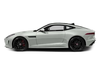 Polaris White 2016 Jaguar F-TYPE Pictures F-TYPE Coupe 2D S AWD V6 photos side view