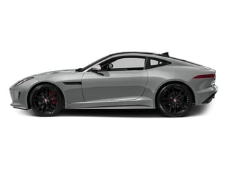 Rhodium Silver Metallic 2016 Jaguar F-TYPE Pictures F-TYPE Coupe 2D S AWD V6 photos side view