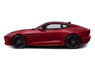 Italian Racing Red Metallic 2016 Jaguar F-TYPE Pictures F-TYPE Coupe 2D S AWD V6 photos side view