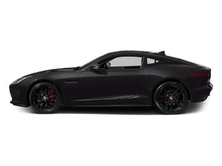 Ultimate Black Metallic 2016 Jaguar F-TYPE Pictures F-TYPE Coupe 2D S V6 photos side view