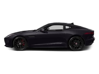 Black Berry 2016 Jaguar F-TYPE Pictures F-TYPE Coupe 2D S V6 photos side view
