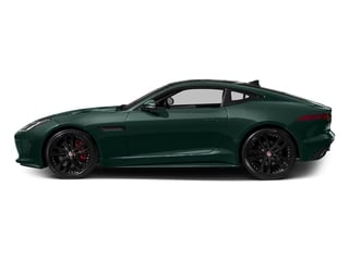 British Racing Green Metallic 2016 Jaguar F-TYPE Pictures F-TYPE Coupe 2D S V6 photos side view