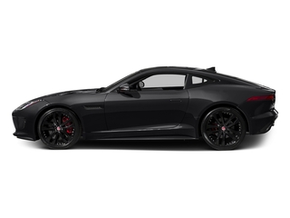 Ebony Black 2016 Jaguar F-TYPE Pictures F-TYPE Coupe 2D S AWD V6 photos side view
