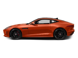 Firesand Metallic 2016 Jaguar F-TYPE Pictures F-TYPE Coupe 2D S AWD V6 photos side view