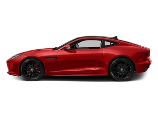Salsa Red 2016 Jaguar F-TYPE Pictures F-TYPE Coupe 2D S V6 photos side view