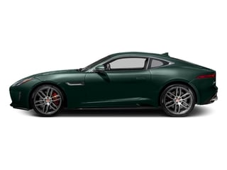 British Racing Green Metallic 2016 Jaguar F-TYPE Pictures F-TYPE Coupe 2D R AWD V8 photos side view