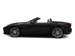 Ultimate Black Metallic 2016 Jaguar F-TYPE Pictures F-TYPE Convertible 2D R AWD V8 photos side view