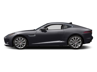 Black Berry 2016 Jaguar F-TYPE Pictures F-TYPE Coupe 2D V6 photos side view