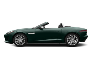 British Racing Green Metallic 2016 Jaguar F-TYPE Pictures F-TYPE Convertible 2D V6 photos side view