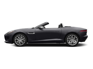 Stratus Gray Metallic 2016 Jaguar F-TYPE Pictures F-TYPE Convertible 2D V6 photos side view