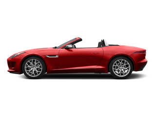 Salsa Red 2016 Jaguar F-TYPE Pictures F-TYPE Convertible 2D V6 photos side view