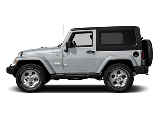 Billet Silver Metallic Clearcoat 2016 Jeep Wrangler Pictures Wrangler Utility 2D Sahara 4WD V6 photos side view
