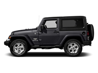 Rhino Clearcoat 2016 Jeep Wrangler Pictures Wrangler Utility 2D Sahara 4WD V6 photos side view