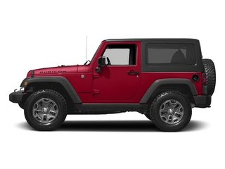 Firecracker Red Clearcoat 2016 Jeep Wrangler Pictures Wrangler Utility 2D Rubicon 4WD V6 photos side view
