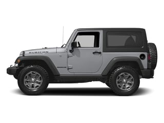 Billet Silver Metallic Clearcoat 2016 Jeep Wrangler Pictures Wrangler Utility 2D Rubicon 4WD V6 photos side view