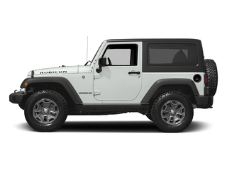 Bright White Clearcoat 2016 Jeep Wrangler Pictures Wrangler Utility 2D Rubicon 4WD V6 photos side view