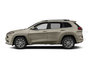 Light Brownstone Pearlcoat 2016 Jeep Cherokee Pictures Cherokee Utility 4D Overland 4WD photos side view