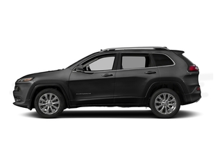 Brilliant Black Crystal Pearlcoat 2016 Jeep Cherokee Pictures Cherokee Utility 4D Overland 2WD photos side view