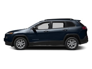 True Blue Pearlcoat 2016 Jeep Cherokee Pictures Cherokee Utility 4D Sport 4WD V6 photos side view