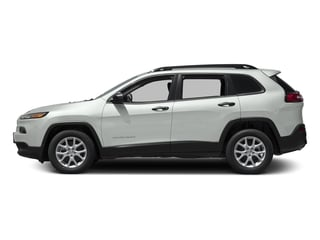 Bright White Clearcoat 2016 Jeep Cherokee Pictures Cherokee Utility 4D Sport 4WD V6 photos side view