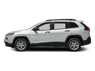 Bright White Clearcoat 2016 Jeep Cherokee Pictures Cherokee Utility 4D Sport 2WD V6 photos side view
