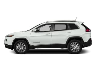 Bright White Clearcoat 2016 Jeep Cherokee Pictures Cherokee Utility 4D Limited 2WD photos side view