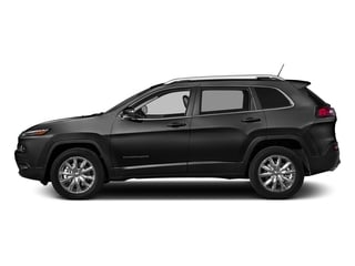 Brilliant Black Crystal Pearlcoat 2016 Jeep Cherokee Pictures Cherokee Utility 4D Limited 2WD photos side view