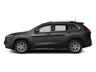 Brilliant Black Crystal Pearlcoat 2016 Jeep Cherokee Pictures Cherokee Utility 4D Latitude 4WD photos side view