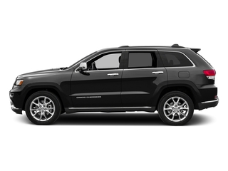 Brilliant Black Crystal Pearlcoat 2016 Jeep Grand Cherokee Pictures Grand Cherokee Utility 4D Summit Diesel 2WD photos side view