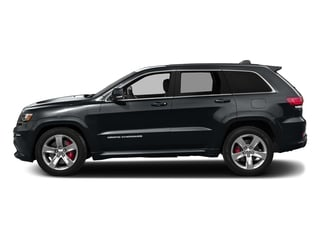 Maximum Steel Metallic Clearcoat 2016 Jeep Grand Cherokee Pictures Grand Cherokee Utility 4D SRT-8 4WD photos side view