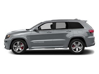 Billet Silver Metallic Clearcoat 2016 Jeep Grand Cherokee Pictures Grand Cherokee Utility 4D SRT-8 4WD photos side view