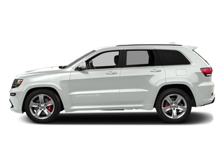 Bright White Clearcoat 2016 Jeep Grand Cherokee Pictures Grand Cherokee Utility 4D SRT-8 4WD photos side view