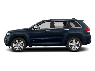 True Blue Pearlcoat 2016 Jeep Grand Cherokee Pictures Grand Cherokee Utility 4D Overland Diesel 4WD photos side view