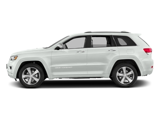 Bright White Clearcoat 2016 Jeep Grand Cherokee Pictures Grand Cherokee Utility 4D Overland Diesel 4WD photos side view