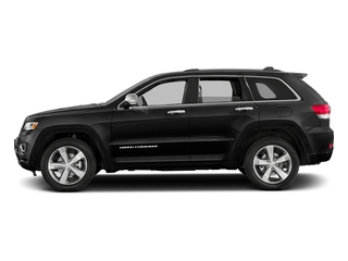 Brilliant Black Crystal Pearlcoat 2016 Jeep Grand Cherokee Pictures Grand Cherokee Utility 4D Overland Diesel 4WD photos side view
