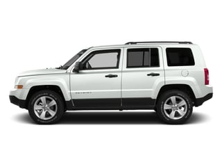 Bright White Clearcoat 2016 Jeep Patriot Pictures Patriot Utility 4D Latitude 4WD photos side view