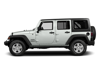 Bright White Clearcoat 2016 Jeep Wrangler Unlimited Pictures Wrangler Unlimited Utility 4D Unlimited Sport 4WD V6 photos side view