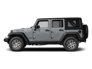 Billet Silver Metallic Clearcoat 2016 Jeep Wrangler Unlimited Pictures Wrangler Unlimited Utility 4D Unlimited Rubicon 4WD V6 photos side view