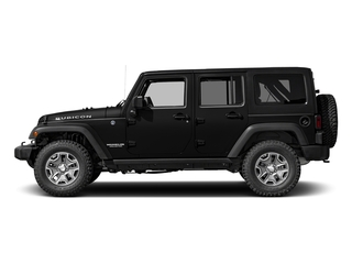 Black Clearcoat 2016 Jeep Wrangler Unlimited Pictures Wrangler Unlimited Utility 4D Unlimited Rubicon 4WD V6 photos side view
