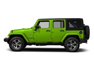 Hypergreen Clearcoat 2016 Jeep Wrangler Unlimited Pictures Wrangler Unlimited Utility 4D Unlimited Sahara 4WD V6 photos side view