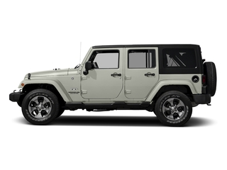 Bright White Clearcoat 2016 Jeep Wrangler Unlimited Pictures Wrangler Unlimited Utility 4D Unlimited Sahara 4WD V6 photos side view