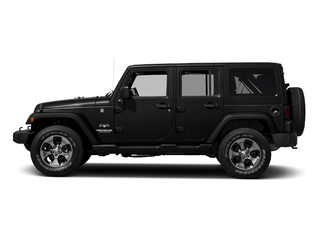 Black Clearcoat 2016 Jeep Wrangler Unlimited Pictures Wrangler Unlimited Utility 4D Unlimited Sahara 4WD V6 photos side view