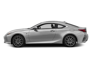 Silver Lining Metallic 2016 Lexus RC 350 Pictures RC 350 Coupe 2D RC350 AWD V6 photos side view