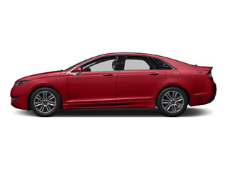Ruby Red Metallic Tinted Clearcoat 2016 Lincoln MKZ Pictures MKZ Sedan 4D EcoBoost I4 Turbo photos side view