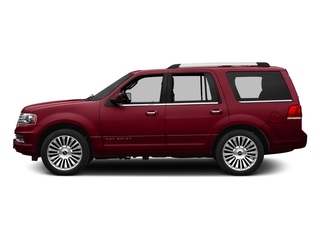 Ruby Red Metallic Tinted Clearcoat 2016 Lincoln Navigator Pictures Navigator Utility 4D Reserve 2WD V6 Turbo photos side view